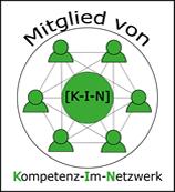 Mitglied von [K-I-N] = Kompetenz-Im-Netzwerk = Netzwerk von freiberuflichen Spezialisten
