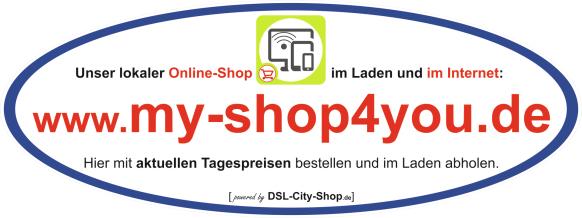 Regionaler Online-Shop für die Region Esslingen am Neckar + Stuttgart
